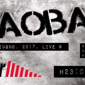 Baobab live @ Cellar Theory su Radio Direzioni Diverse del 3 6 2017