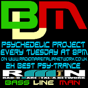 Psychedelic Project Mixed By Bass Line Man On Radio Mare Italia Network Episodio 004 08-08-2013