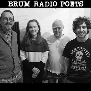 Brum Radio Poets; December 2018 with Mike Alma, Joe Cook and Hannah Ledlie (30/12/2018)
