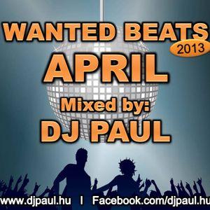 Wanted Beats 2013 April Mixed by Dj Paul