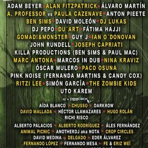 Joseph Capriati @ Aquasella Festival 2013 Spain 02-08-2013