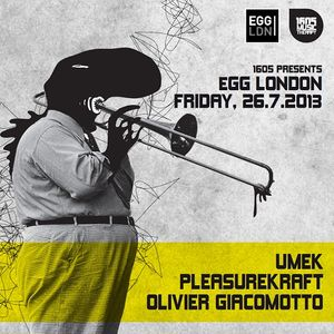1605 Live Mix / Olivier Giacomotto / Egg Club, London / 26.7.2013