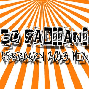DJ EL FABIIANI-FEBRUARY 2013 MIX (TECH-HOUSE)
