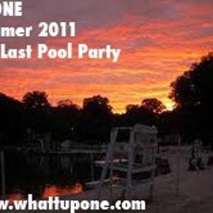 DJ ONE - The Last Pool Party - Adios Summer 2011