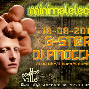 G-St@r  minimalelectro Party3 @ Centre-Ville