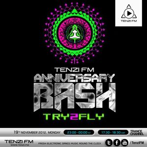 TRY2FLY guest-mix for Tenzi FM (India) 19.11.2012