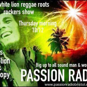White Lion Radio show Passion Radio Bristol 31/10/2013