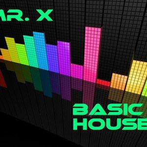 Mr. X - Basic House 09-10-2011 (Electronic Promo Set)