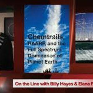 Elana Freeland and Billy Hayes on Chem Trails Bob Charles Show 12-21-2015