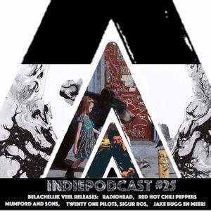 Red Hot Chili Peppers en veel meer nieuwe muziek - Indiepodcast 25