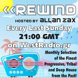 Allan Zax - REWIND Episode 6 on WestRadio.gr (29.07.12)