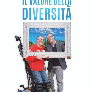 Luigi Falco e Gianni Baini e il libro il valore della diversità