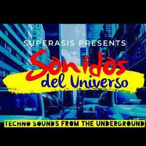 356.-Superasis Presents: Sonidos del Universo SDU 356 / Techno Radiolive from NYC.14.05.19