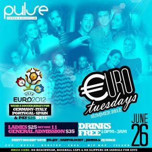 DJ Jamma - Euro Tuesdays June 26th - Clip 1 (RAW)