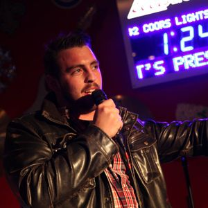 Comedian Tyler DiBenedetto at Election Fallout Comedy Night at NEPA Scene Live