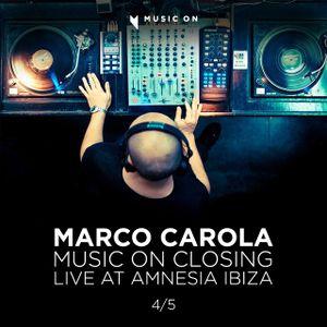 Marco Carola - Music On Closing - 28/09/12 Live at Amnesia Ibiza part 4/5