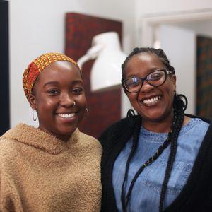 Diaspora Distins: Antonia Odunlami with Monique Tomlinson // 11-01-2019