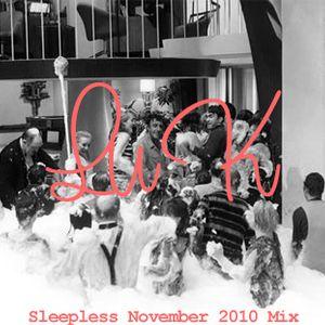 Sleepless November 2010 Mix
