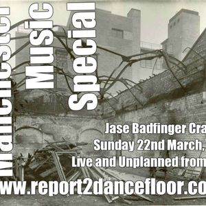 Sunday Session By Jase Badfinger | Report2Dancefloor Radio | 22.03.2015