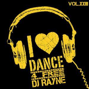 Dance4Free Vol.23 (Mixed by Dj Rayne)
