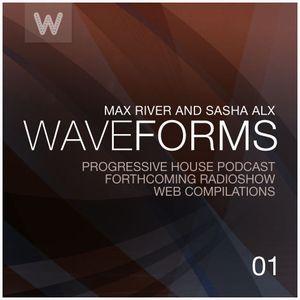 Max River - Waveforms (Side A)