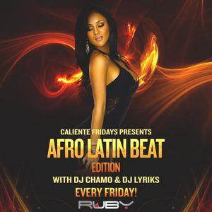 DJ Lyriks Live at Caliente Fridays_Afro Latin Beats Aug 11, 2017