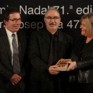 """Andreu Carranza guanyar el premi Josep pla amb la novel·la """"El poeta del poble"""""""