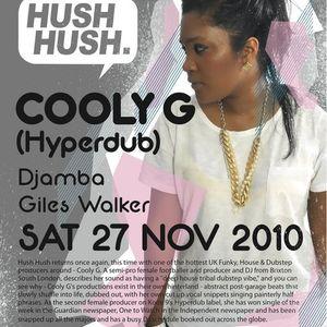 Hush Hush Radio Show 23-11-10