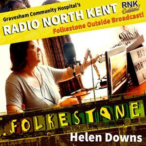 Radio North Kent OB from Folkstone, Helen