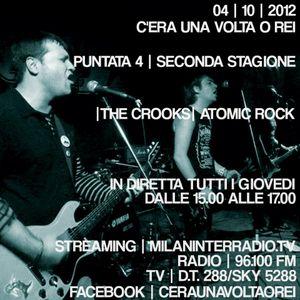 "Stagione 2. Puntata 4. ""The Crooks: Atomic Rock""."