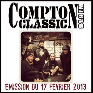Compton Classic - Emission du 17 février 2013