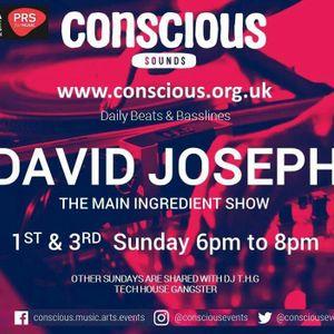 Sunday 15th January Main Ingredient Show