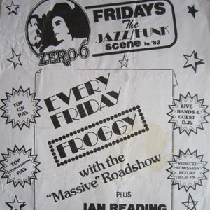 Froggy Live at Zero 6 Friday 27th August 1982