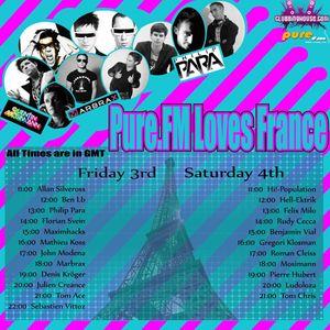 Benjamin Vial - Pure FM guest mix - 04/09/10