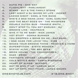 DJ ONE SHOT ® SUPER FUNK DISCO MIX