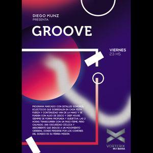 Groove #47 @ Vorterix Bahía (emitido el 01-12-17)
