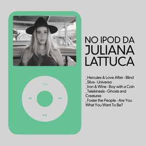 No iPod da Juliana Lattuca