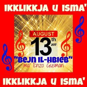 BEJN IL-HBIEB  13-08-2017