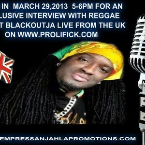 BLACKOUT JA ON AIR WITH DJ EMPRESS ANJAHLA THANKS FOR THE REQUEST TO RE-AIR