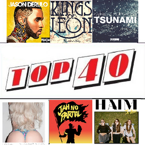 Top 40 (mixed in 1 hour) - Vol. 4 November 2013