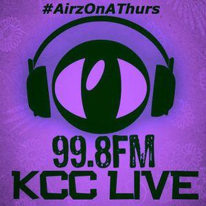 AirzOnAThurs - Thursday 9th May 2013 - 99.8FM KCC Live