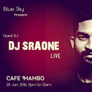 DJ SRAONE  LIVE @CAFE MAMBO