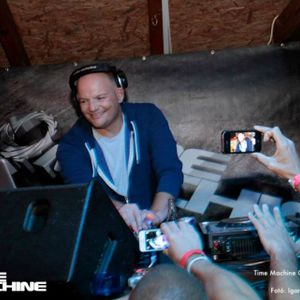 DJ Budai Live @ Time Machine Open Air 2013.08.30 @ The Beach - Fehérvárcsurgó