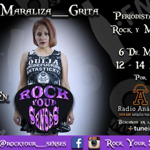 @Maraliza_Grita en Rock Your Senses