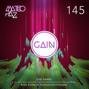 Mateo Paz - Gain vol.145