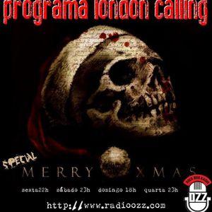 Programa London Calling - ESPECIAL NATAL