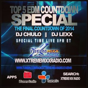 Back 2 Da Beat Top 5 EDM Countdown 2014 Finale with Freestyle Chulo & DJ Lexx  11-12-14
