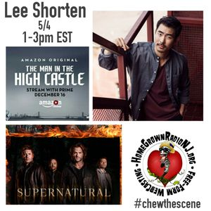 Actor Lee Shorten of The Man in the Hight Castle and Supernatural 5-4-17