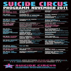 Dave Tarrida @ Suicide Techno Nacht - Suicide Circus Berlin - 18.11.2011