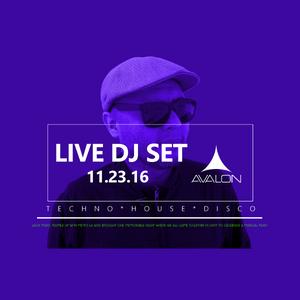 Live Dj set 11.23.16 @ Avalon in Hollywood